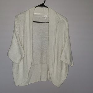 Short sleeve cardigan sweater